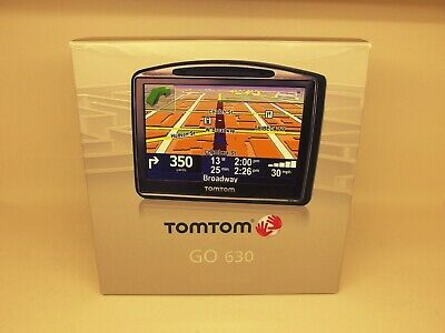 TomTom GO 630T Automotive GPS Receiver All Europe USA, Canada and Mexico maps