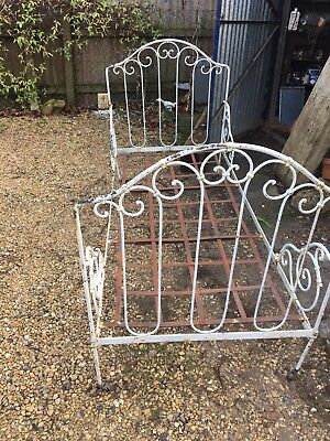 antique metal day bed 19th century