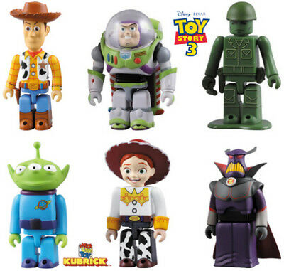 Kubrick Toy Story Action Figures - 6 available - Buzz, Woody, Jesse, Zurg -new#