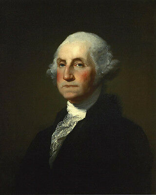 1st US President GEORGE WASHINGTON Glossy 8x10 Photo Political Print 1796 Poster