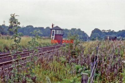 Photo  Auchterarder Railway Station Perthshire Site 1991 Caledonian Rly Glasgow