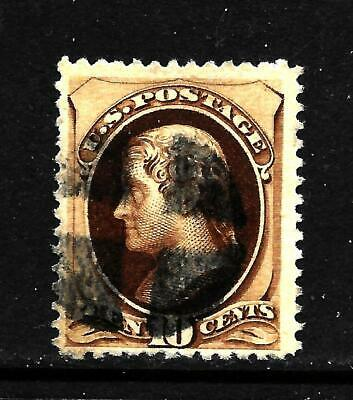 Hick Girl Stamp-Old Used U.s. Sc#187  Jefferson,   Issue 1879     X5820