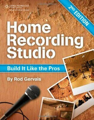 [PDF]  Home Recording Studio Build It Like the Pros2nd Edition BY Rod Gervais
