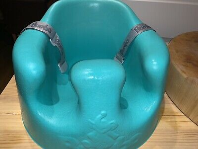 Bumbo Seat with Straps and Tray in Aqua Boys And Girls