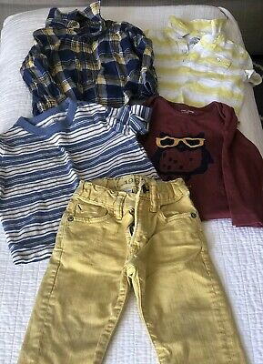 Baby Gap 5 Piece Lot Of Boys Clothes Size 18-24 Months Infant Toddler