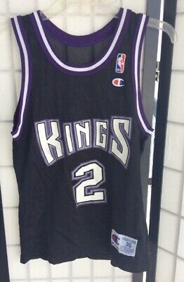 Vintage Mitch Richmond Sacramento Kings Champion  2 Jersey 36 Small  SEE  PICS  ef92b56b7