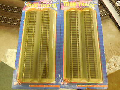"Atlas Code 100 True Track- Nickel Silver- (8) 9"" straight pieces- nib"
