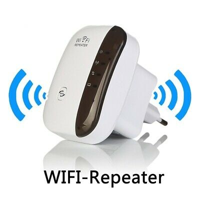 Plug&Surf Advanced Wifi Repeater Extender For Better Signal Boost 300mbps Wifi