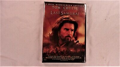 The Last Samurai Two Disc Widescreen Edition Tom Cruise NEW SEALED