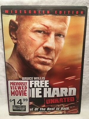 Live Free Or Die Hard (Unrated Edition) (Widescreen Edition) (Dvd)