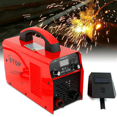 ARC-420S Electric Welder 0-420A Handheld IGBT Inverter Digital Welding Machine