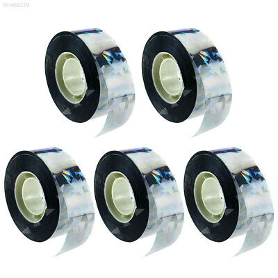 6E3A Visual Audible Reflective Bird Deterrent Flash Bird Scare Tape Ultrasonic