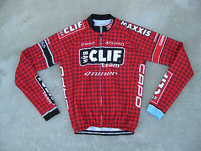 2a3a6da8f CAPO TEAM CLIF Bar Cycling Longsleeve Thermal jersey  NEW  Maxxis ...