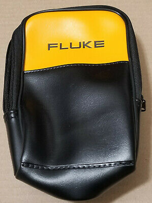 New Without Packaging Fluke C50 Compact Soft Leather Meter Case Genuine Original