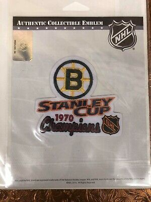 1970 NHL Stanley Cup Champions Boston Bruins Commemorative Patch