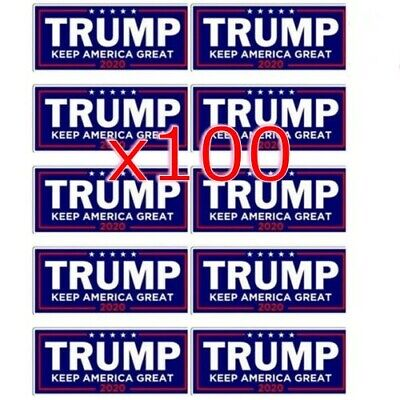 Donald Trump President 2020 Bumper Sticker Keep Make America Great Decal x100