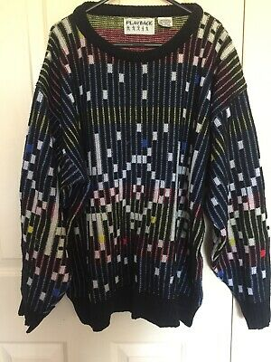 Playback Sweater Vintage Grunge 90s