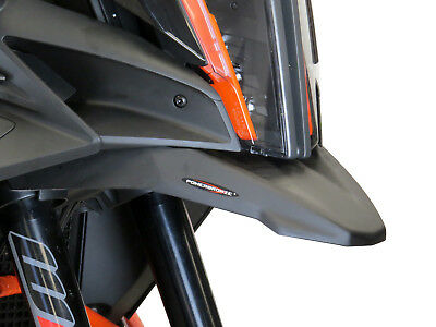 KTM 1290 SUPER ADVENTURE R / S 17-18 Matt Black Beak - Powerbronze
