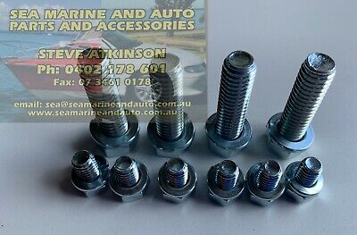 Holden Hq Hj Hx Hz & Wb Rear Disc Calipers Mount Bolts 10 Suits Salisbury Diff