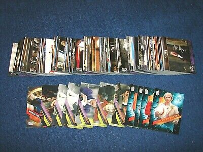 2009 Topps Doctor Who Timeless Lot Of 172 Cards With Inserts (18-85)