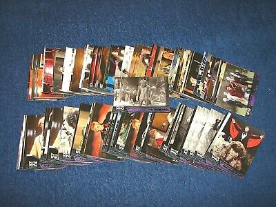 2009 Topps Doctor Who Timeless Lot Of 119 Green Foil Parallel Cards (18-85)