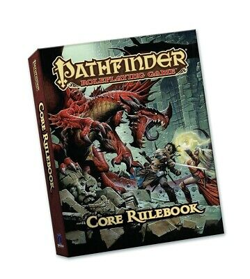 Pathfinder Roleplaying Game: Core Rulebook (Pocket Edition) by Jason Bulmahn.