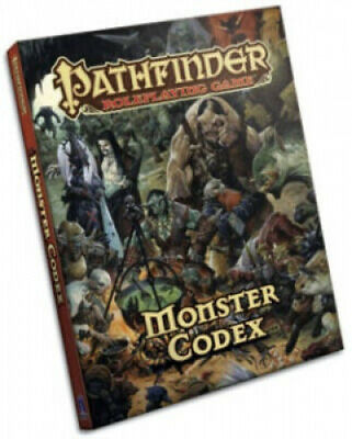Monster Codex: Pathfinder Roleplaying Game: Monster Codex by Jason Bulmahn.