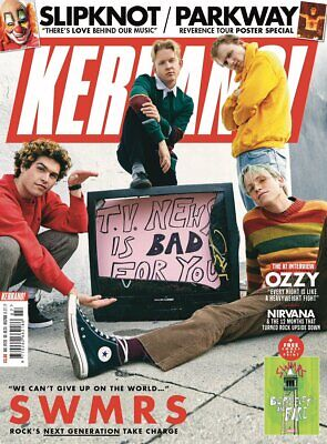KERRANG! February 2019: SWMRS Ozzy Osbourne MEGADETH Parkway Drive BLOOD YOUTH