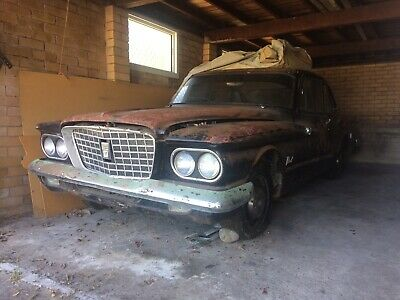 Rare VALIANT RV1 Black Manual Shed Find Car. R Series Sitting For 30 Years.