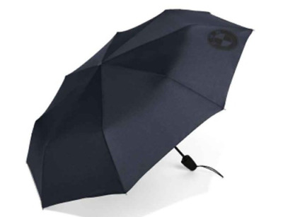 Genuine BMW 2018 Pocket Umbrella Dark Blue 80232454630