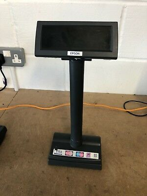 Epson 2 Line Customer Display Model M167A/M58DB EPOS(SKU 71)