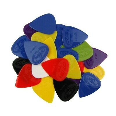 12 Nylon Grip Guitar Picks Plectrums Choice Of  6 Gauges Electric or Acoustic