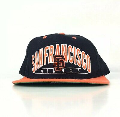 2c73796ac6a143 San Francisco Giants Baseball Cap Hat SnapBack Men's - Marks On Right Side