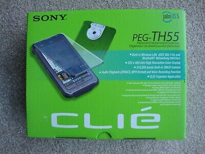 Sony Clie Personal Entertainment Organizer PEG - TH55  New, Still Boxed, Unused