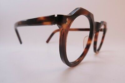 Vintage late 30s early 40s acetate eyeglasses frames hand made in France SUPERBE