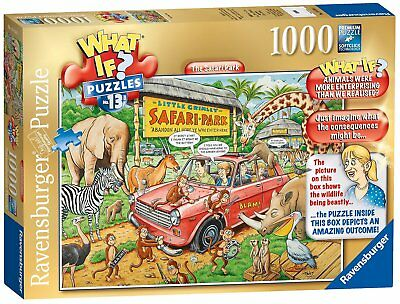 Ravensburger WHAT IF? No.13 The Safari Park 1000pc Jigsaw
