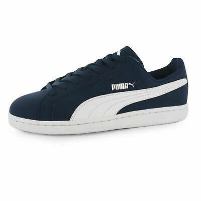 428b494daf09 Puma Smash Nubuck Casual Trainers Mens Peacoat Wht Fashion Trainers Sneakers