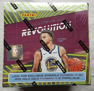 Panini Revolution Basketball NBA Chinese Neuf Année Box 2018-19 12 Parallels