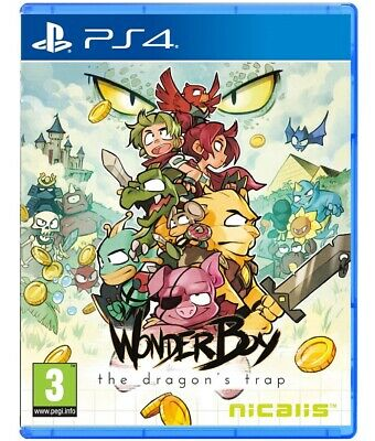 Wonder Boy The Dragon's Trap Ps4 Videogioco Playstation 4 Italiano Gioco Nuovo