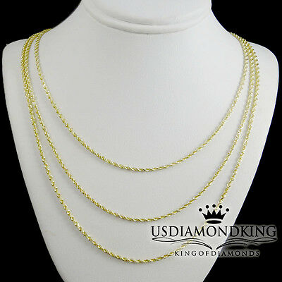 1.7 G BB-10-40 environ 40.64 cm 14k solide or jaune perle-Bar Chaîne Collier 1 mm 16 in