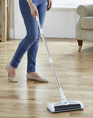 JD Williams Electric 2 In 1 Bagless Cordless Rechargeable Sweeper Brush Mop