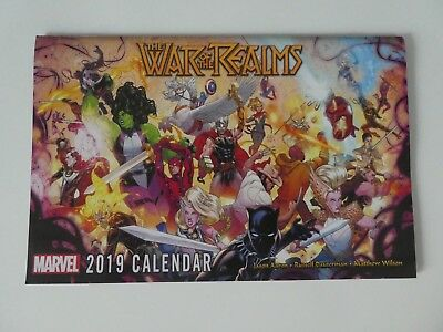 Marvel 2019 Calendar - The War of the Realms