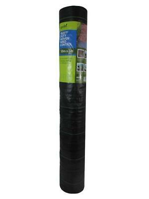 Apollo Heavy Duty Weed Control Fabric (95gms) 50m x 1m