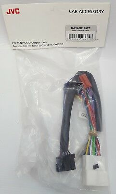 Kenwood CAW-SB2570 Car Steering Wheel Remote Control Interface Cable for Subaru