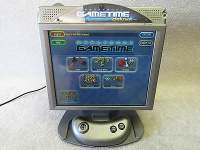 "Megatouch Gametime Deluxe -ION GT 17"" Arcade TouchScreen Game Machine 118 Games!"