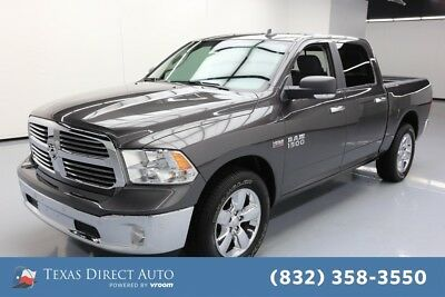 2018 Ram 1500 Big Horn Texas Direct Auto 2018 Big Horn Used 5.7L V8 16V Automatic RWD Pickup Truck