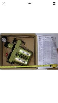 "1/2"" BSP Norgren Martonair Filter Regulator Unit Pneumatic Compressor Air"