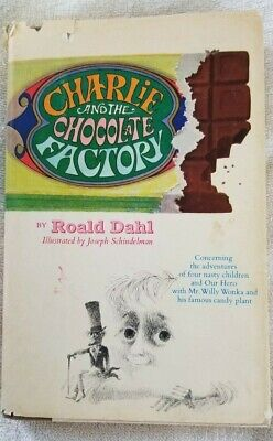 CHARLIE AND THE CHOCOLATE FACTORY by Roald Dahl, Revised 1973, Hard Cover