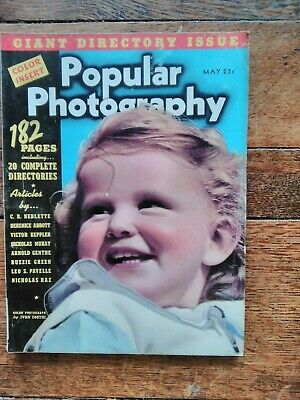 Popular Photography Giant Directory Issue  May 1939  Vol No 5