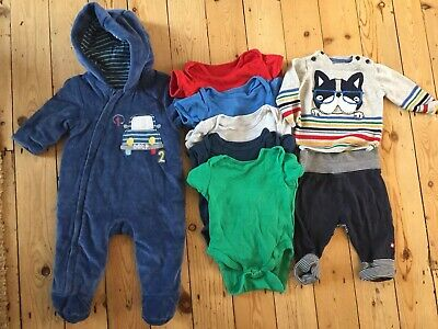 baby boys 0-3 months Mothercare Bundle